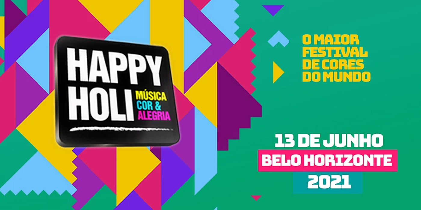 Happy Holi Belo Horizonte